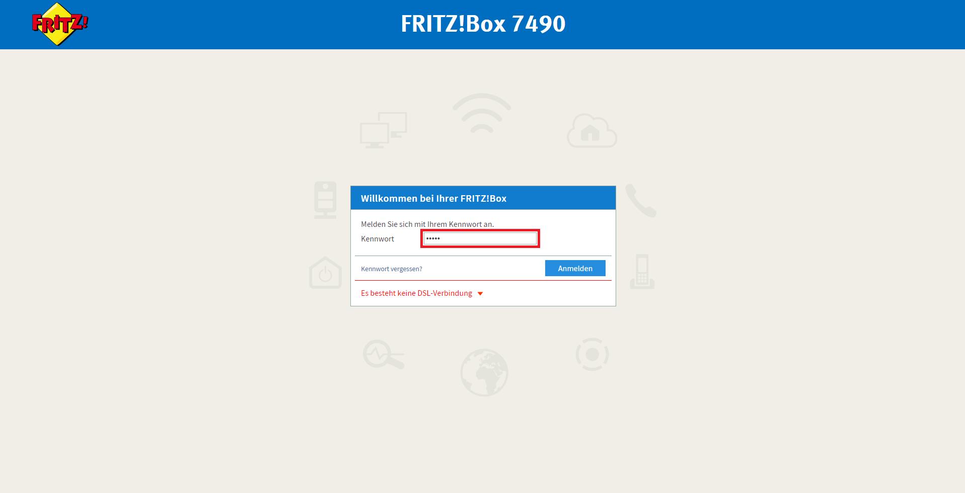 Fritz Box 7490 Interoperability Manual