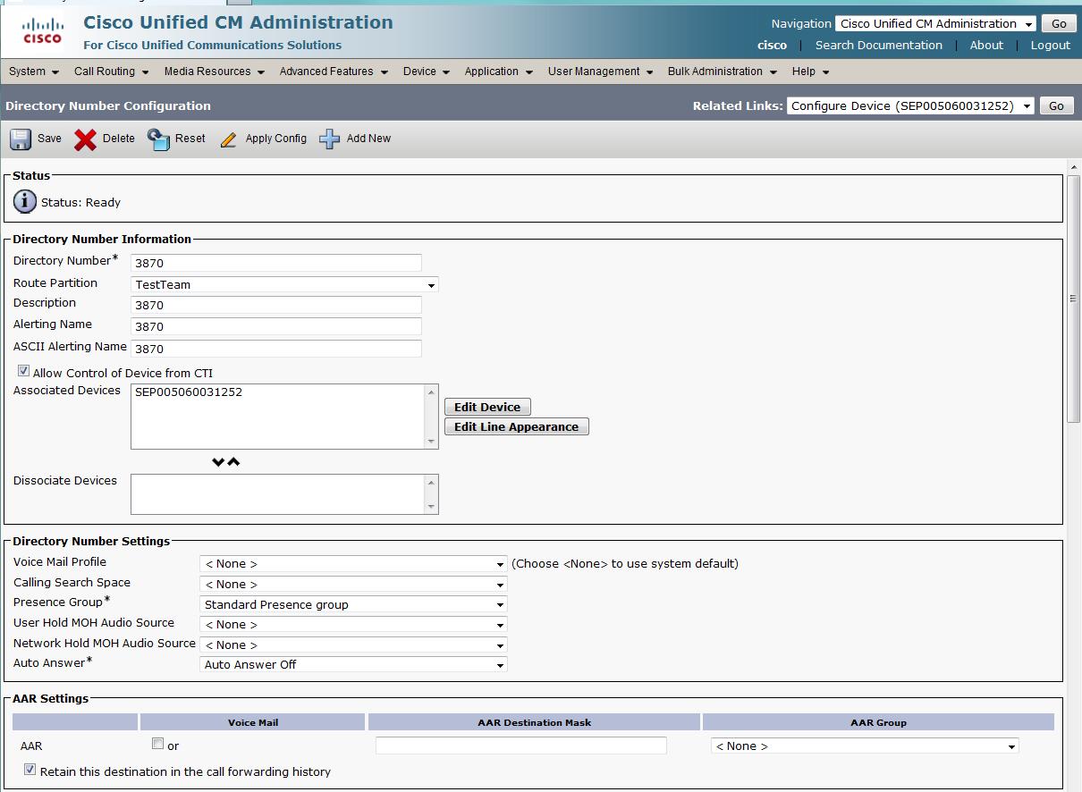 Cisco 7985 Tandberg - Interoperability Manual