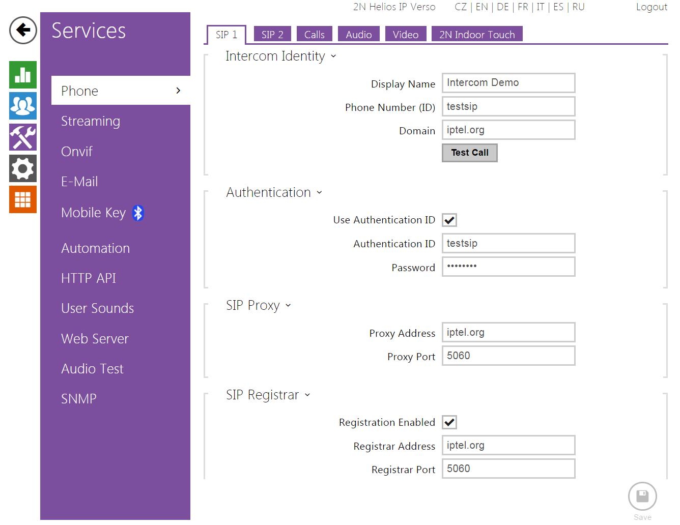 Loxone Miniserver Interoperability Manual