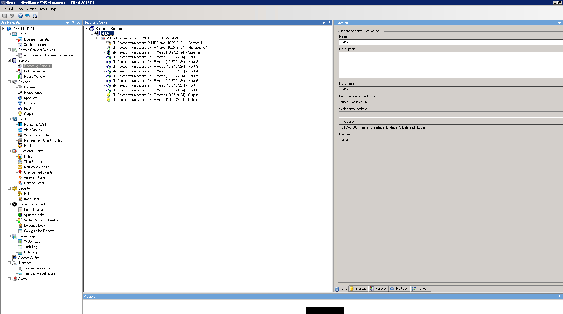 Siemens Siveillance VMS - Interoperability Manual