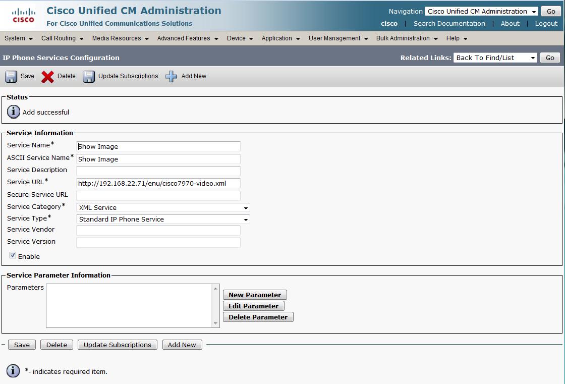 Cisco Cucm Interoperability Manual